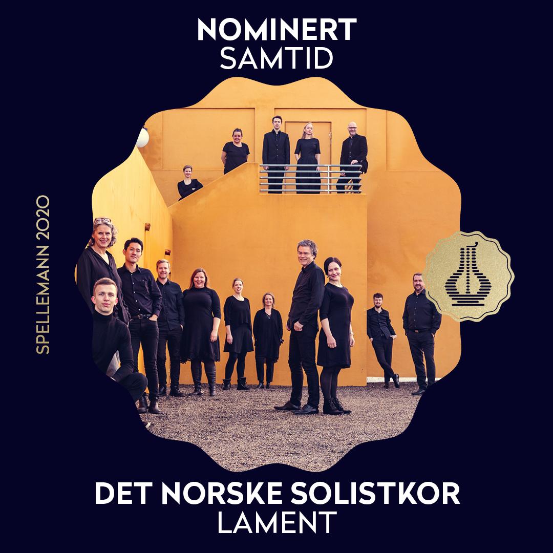 Solistkoret nominert til Spellemann