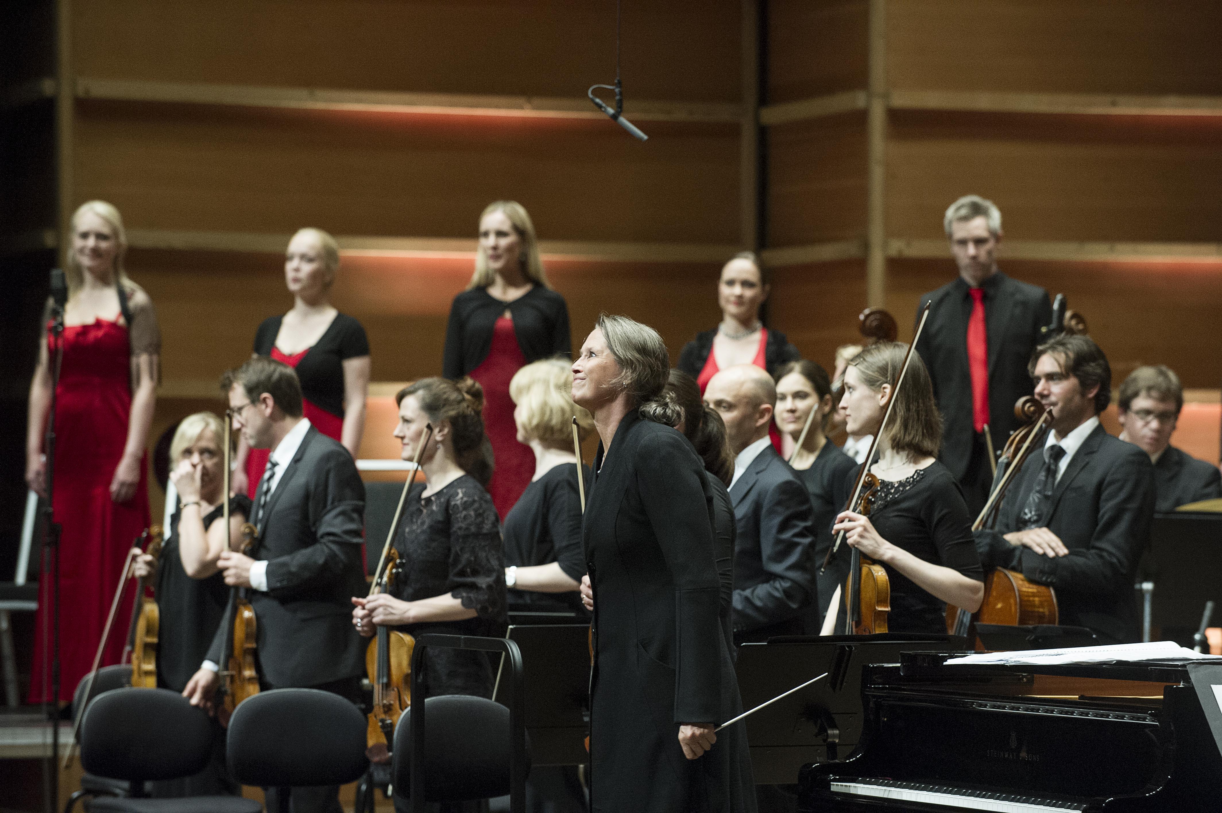 Det Norske Solistkor, Mahler Chamber Orchestra og Dirigent Grete Pedersen